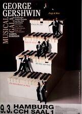 GERSHWIN - Konzertplakat - Musical - Darryl Robinson - Porgy & Bess - Hamburg
