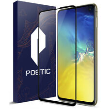 Galaxy S10e Screen Protector Tempered Glass, Poetic Premium HD Ultra Clear