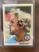 1978 Topps George Brett Kansas City Royals #100 Baseball Card