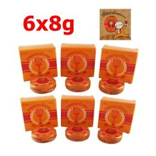 6x Thai Herbal Balm Insect Bite Analgesic Ointment Relieve Massage Muscle Pain