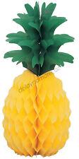 Hawaiian Luau Beach Party Pineapple Honeycomb Centrepiece Table Decorations Hang