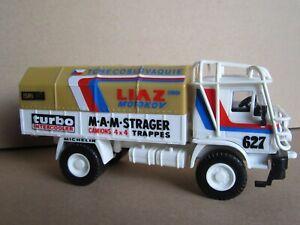 170P Monti System Typ 07 Liaz 100.55D #627 Rally Paris Dakar 1985 Moskal 1:48