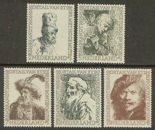 NVPH 671-675 Zomer 1956: Rembrandt postfris (MNH)