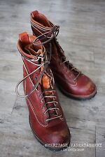 Wesco Jobmaster Lace-to-Toe Leather Boot 75th Anniversary Edition Sz 10 E