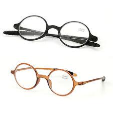 TR90 Super light Elastic Round reading glasses Women Men reader +1.0 to +4.0