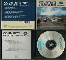 Country's Greatest Hits of the 60's, Vol. 1 by Various Artists (CD, Jul-1994, MC