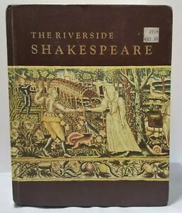 The Riverside Shakespeare- 1974 Good Condition