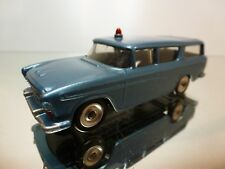 DINKY TOYS NASH RAMBLER 173 257 - BLUE METALLIC 1:43 - GOOD CONDITION - 7/8