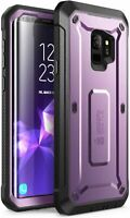 For Samsung Galaxy S9, SUPCASE 360 Protection Case Rugged Holster Screen Cover
