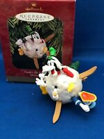 Hallmark 1997 Keepsake Ornament Disney GOOFY'S SKI ADVENTURE