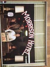 Jim Morrison The Doors Morrison Hotel Gallery 7 X 5 Thick Postcard