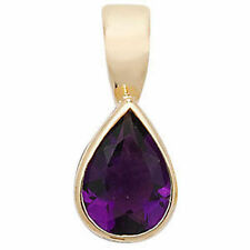 Unbranded Amethyst Yellow Gold Fine Necklaces & Pendants