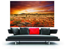 A0 canvas print australia landscape outback bush SA ranges photo panoramic