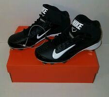 Nike Huarache Strike Mid Metal Baseball Cleats 615965-010 MSRP $75 size 11