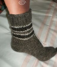 Sheep's Wool Socks 100% Natural Warm Handmade Casual All Sizes New