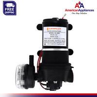 Camplux 12V Water Pressure Diaphragm Pump 40PSI 3.3GPM 12.5LPM for RV