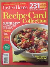 Taste Of Home Special Recipe Card Collection 231 Meals 2014 FREE SHIPPING!
