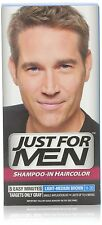 Just for Men Shampoo-In Hair Color, Light-Medium Brown, H-30 (Pack of 6)