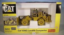 Norscot 1/50 Caterpillar Cat 836G Landfill Compactor OVP #415