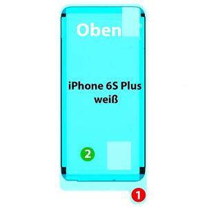 iPhone 6S Plus Display Kleber Klebepad für Rahmen Gehäuse Klebe Dichtung, weiß
