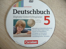 Deutschbuch 5 Lehrersoftware CD Handreichungen Vorschläge Klassenarbeiten