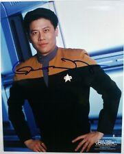 "Garrett Wang as Harry Kim - Genuine Autographed 8""X10"" Photo - STAR TREK Voyager"