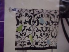 """""""Sheply""""  Drapery Valance 50"""" x 16"""" Rows Of Colorful Vines - Curtain Drapes"""