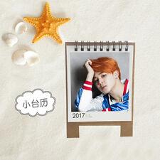 KPOP BTS Bangtan Boys JIMIN Personal 2017 Mini cute Calendar Desk calendar