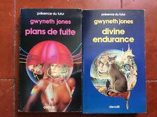 Présence du Futur * Gwyneth Jones * 2 Volumes * Denoël * BE