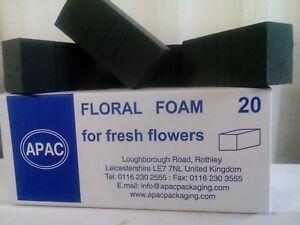 Apac Floral Wet Foam Block Brick Florist Craft Oasis Alternative