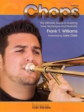 Chops for Trombone Exercises Technique Tone Music Book Frank Williams Bass Clef