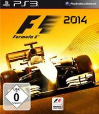 PlayStation 3 f1 2014 formula 1 alemán como nuevo