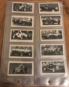 🔥 VINTAGE F1 Formula 1 Kane 1954 SET Juan Manuel Fangio Mike Hawthorn - ROOKIE