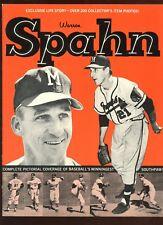 1964 JKW Sports Publications Warren Spahn EXMT