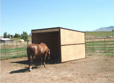Run in Horse Shed Kit - Easy to Assemble and portable 10x10