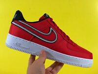 "Nike Air Force 1 Low ""Reverse Stitch"" University Red Men's Shoes CD0886-600"