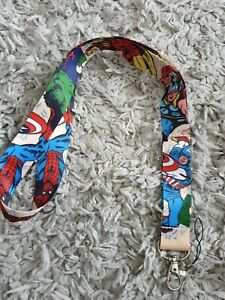 Marvel Heroes Lanyard New