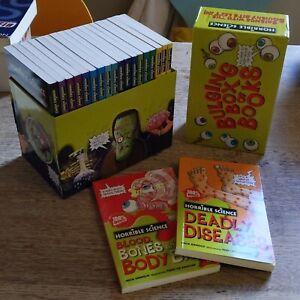 Boxed Set of 20 Books Horrible Science Horrible Histories Kids