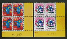 Taiwan 2003 (2004) Zodiac Lunar New Year Monkey Stamps (BR Block 4 =8v)台湾生肖猴年邮票
