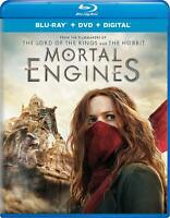 Mortal Engines 4K Ultra HD + Blu-ray + Digital Blu-Ray Extended Cut