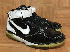 RARE🔥 Nike Air Force 25 B XXV Black Chrome White Sz 10 316881-012 Basketball LE