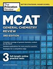 Graduate School Test Preparation: MCAT General Chemistry Review, 3rd Edition by