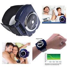 SNORE Stopper Anti-Snoring Wrist Bracelet Watch Device Sleeping Aids Cessation