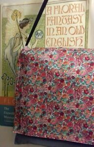 Liberty Tana Lawn Messenger Carpet Bag Unique Stylish Fashionable
