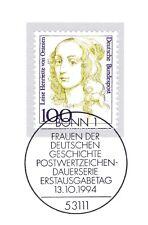 BRD 1994: Luise Henriette von Oranien Nr. 1756 mit Bonner Sonderstempel! 1A 1807
