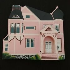 Shelias Painted Lady Malden MA Queen Anne Style House Victorian Pink Vtg 1990 US