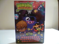 MOSHI MONSTERS MONSTROUS BIOGRAPHIES COLLECTION 4 BOOKS SEALD