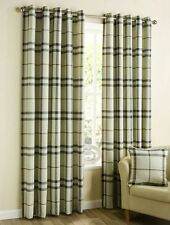 Country Checked Ready Made Curtains