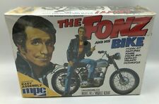 New The Fonz and His Bike Model Kit Mpc 1976 Sealed Unopened Box