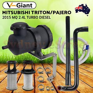 Oil Catch Can Kit for 2015-2019 Mitsubishi Triton MQ MR 2.4L Pajero Sport Diesel